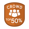 Top 50% Crowd